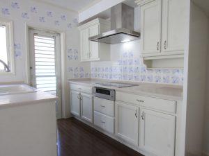 メリラット輸入キッチンの施工事例:藤沢の家