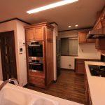 メリラット輸入キッチンの施工事例:八王子の家