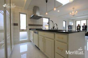 メリラット輸入キッチンの施工事例:板橋の家