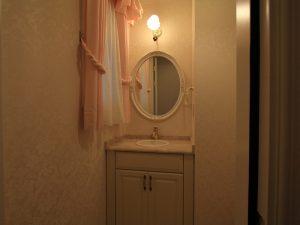 クラフトメイド輸入キッチンの施工事例:軽井沢の家