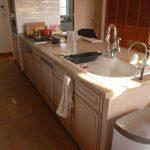 メリラット輸入キッチンの施工事例:北名古屋の家