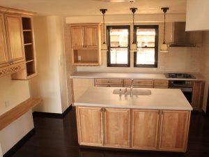 メリラット輸入キッチンの施工事例:三鷹の家